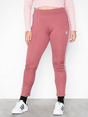 Adidas Originals omönstrade byxor SST Tracksuit Pants Maroon