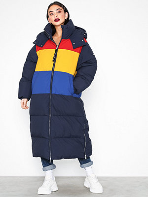 Tommy Jeans Tjw Oversized Puffa Coat Multicolor