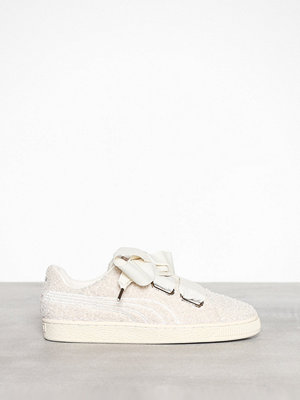 Puma Basket Heart Teddy Vit