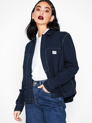 Lee Jeans Workwear Overshirt Navy Navy