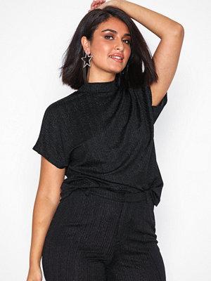 Jacqueline de Yong Jdylura S/S Top Jrs Svart