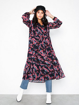 Object Collectors Item Objfarina L/S Long Dress a Q