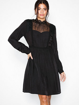 Object Collectors Item Objclea L/S Dress a Wi Svart