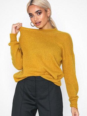 MOSS Copenhagen Femme Mohair O Pullover Olive