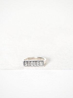 Stolen Girlfriends Club Stolen Bar Ring Silver