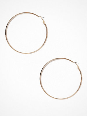 Pieces örhängen Pcnellie Hoop Earrings D2D Guld