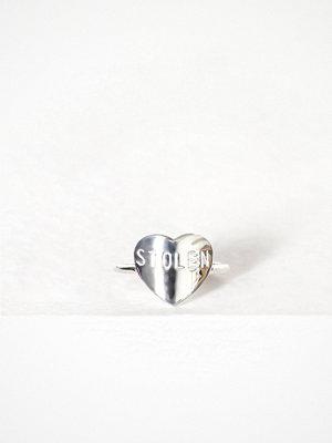 Stolen Girlfriends Club Stolen Heart Ring Silver