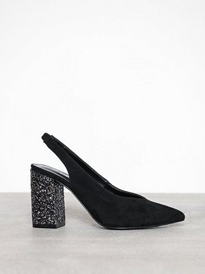 Pumps & klackskor - Pieces Pscaela Sling Back Pump Svart