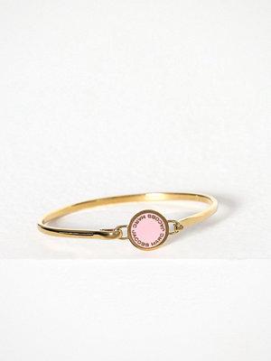 Marc Jacobs armband Hinge Bracelet Ljus Rosa