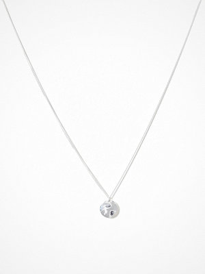 Syster P halsband Minimalistica Hammered Circle Necklace