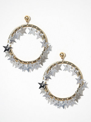 Missguided Jewelry örhängen Star Sequin Hoop