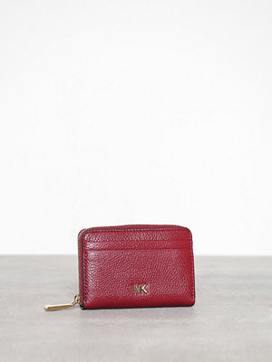 MICHAEL Michael Kors Money Pieces Za Coin Card Case Maroon
