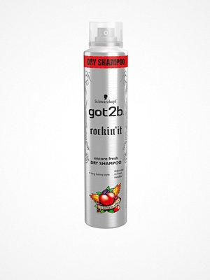 Hårprodukter - Schwarzkopf Got2B Rock Dry Shampoo 200 ml
