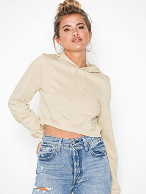 Street & luvtröjor - NLY Trend Cropped Sweat Hoodie