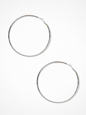 Pieces örhängen Pcnellie Hoop Earrings D2D Silver