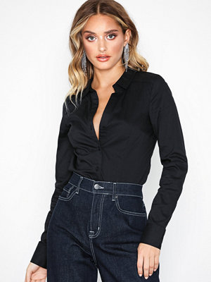 Vero Moda Vmlady L/S G-String Shirt Noos Black