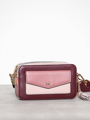MICHAEL Michael Kors mönstrad axelväska Sm Pocket Camera Bag Rose