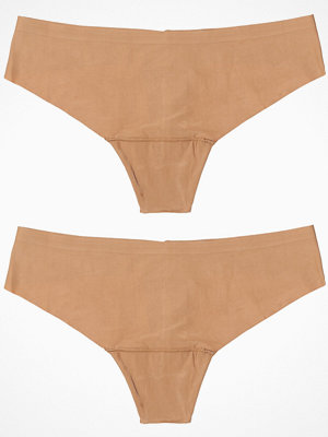 Magic 2-pack Dream Invisible Thong Mocha