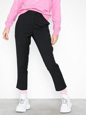 Calvin Klein Jeans svarta byxor Side Stripe Twill Pant