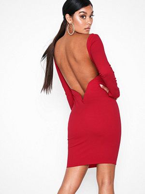 NLY One Low V-bar Back Dress