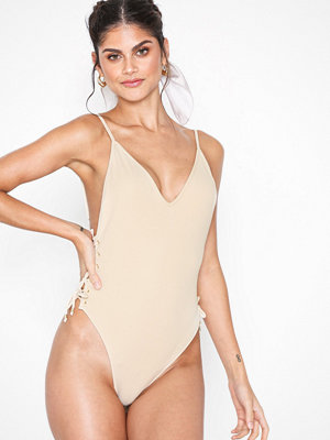 NLY Beach Gone Bad Swimsuit Sand