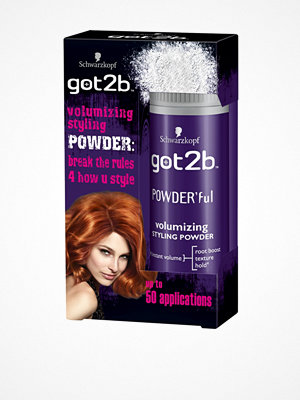 Hårprodukter - Schwarzkopf Got2B Powder Volum 10 g
