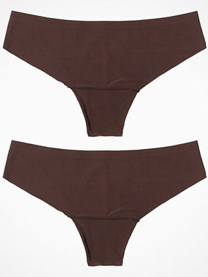 Magic 2-pack Dream Invisible Thong Chocolate