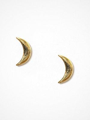 Syster P örhängen Sparkle Earrings Moon Guld