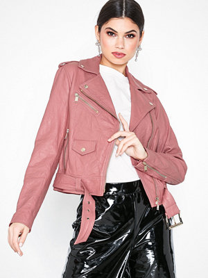 MICHAEL Michael Kors Classic Moto Dusty Rose