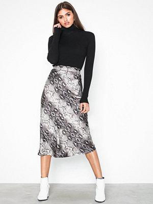 Kjolar - Neo Noir Lulla Snake Skirt
