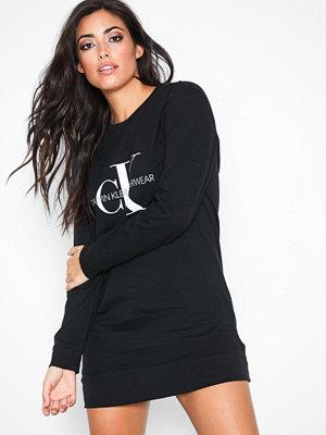 Calvin Klein Underwear L/S Nightshirt Svart