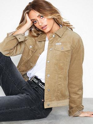 Calvin Klein Jeans Corduroy Trucker Jacket Tannin