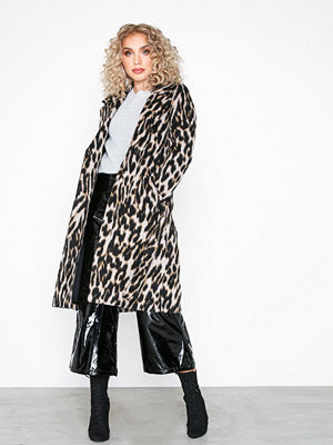 River Island Leopard Robe Coat