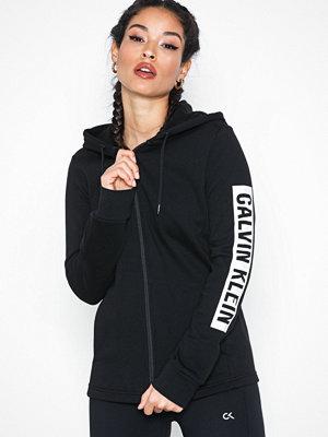 Sportkläder - Calvin Klein Performance FZ Hoody Svart