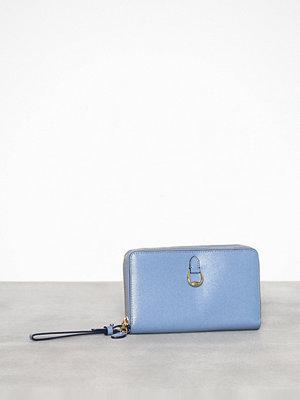 Lauren Ralph Lauren himmelsblå kuvertväska Dblzp Phn Wr-Wristlet-Medium Blue