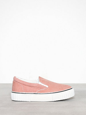 New Look Corduroy Slip On Flatform Trainers