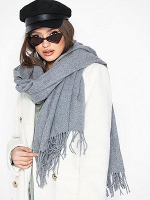 Halsdukar & scarves - Vero Moda Vmana Wool Long Scarf Noos