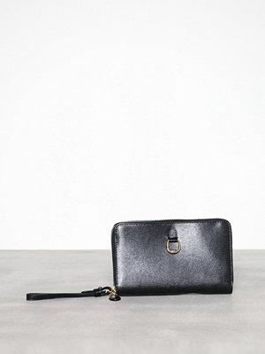Lauren Ralph Lauren svart kuvertväska Dblzp Phn Wr-Wristlet-Medium Black