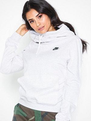 Nike NSW Funnel Neck Hoodie Grå