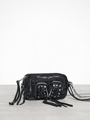 NuNoo Helena Sport/Leather Svart axelväska