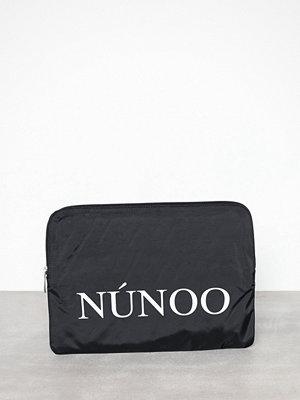 NuNoo svart datorväska med tryck Laptop Sleeve Sport