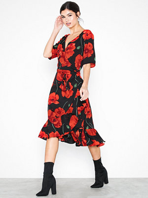 Jacqueline de Yong Jdyindie 2/4 Wrap Dress Wvn