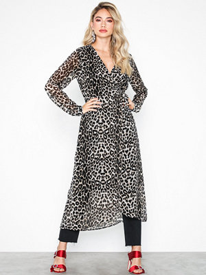 Pieces Pcmerle Ls Midi Dress D2D