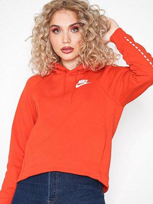 Street & luvtröjor - Nike NSW Hoodie Röd