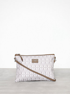 Dagmar kuvertväska Strap bag Cream