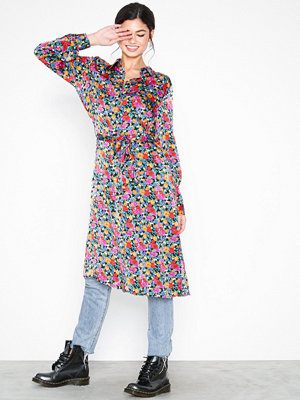 Object Collectors Item Objvioletta Long Shirt Dress 101 Mörk Gul