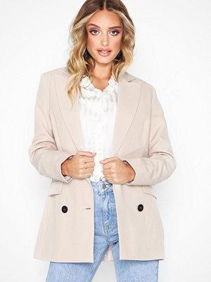 Topshop Peliza Suit Jacket Stone