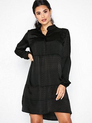 Neo Noir Ginny Partisan Dress Antracit