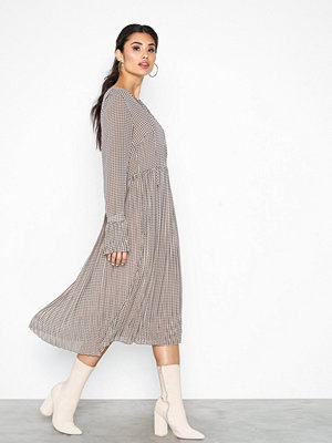 Neo Noir Addie Printed Dress Taupe