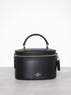 Coach axelväska Refined calf leather trail crossbody Svart